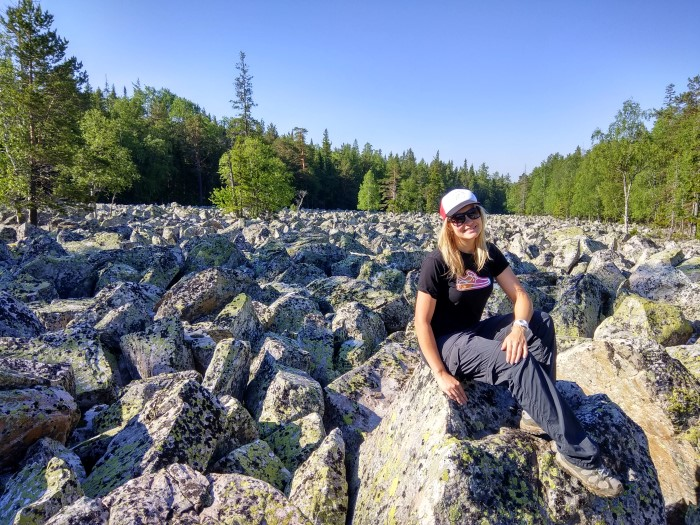 Каменная река Таганай