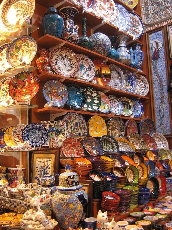 Турецкая керамика в сувенир