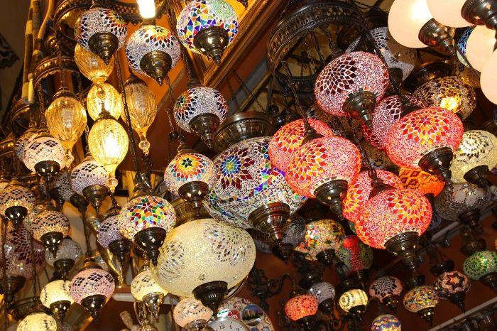 Сувенир лампа из Турции