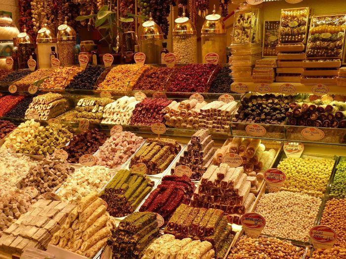 Турецкие сладости в сувенир
